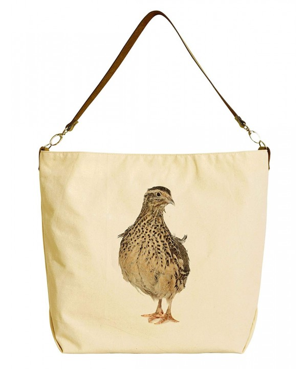 Quail Printed Canvas Leather WAS_29