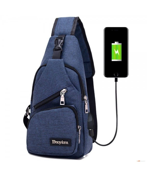 Leisure Charging Shoulder Backpack Rucksack