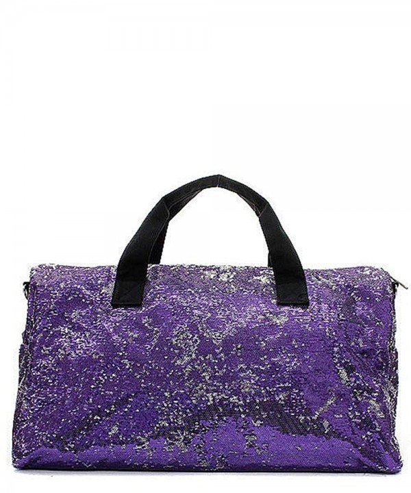 Victoria Sequin Large Duffel Shoulder