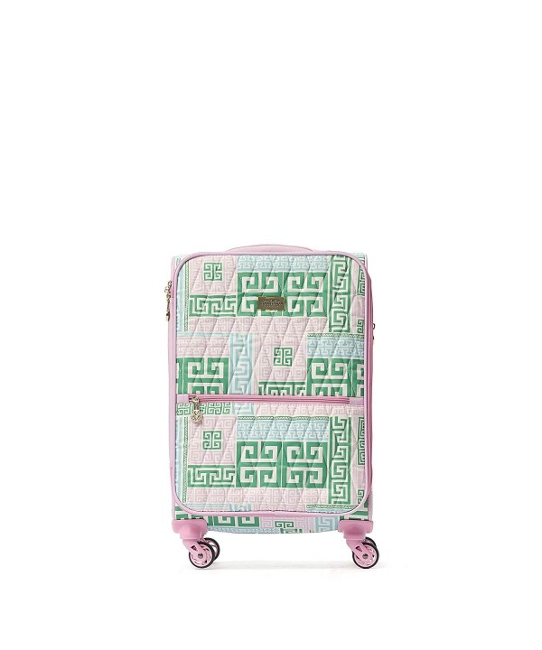 21in Rolling Luggage Suitcase Green