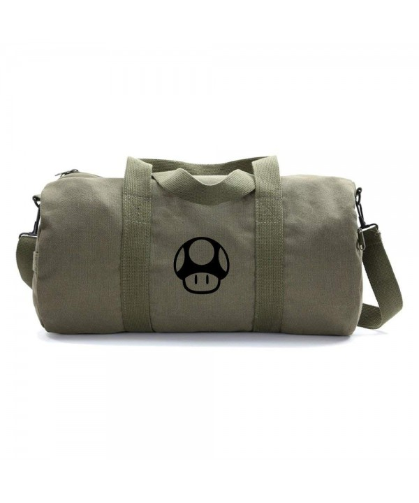 Mario Mushroom Heavyweight Canvas Duffel