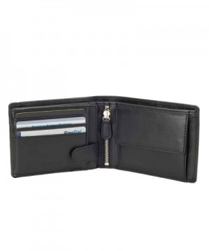 DiLoro Leather Wallets Protection 1808 BK
