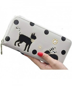 Donalworld Girls Rabbit Leather Wallet