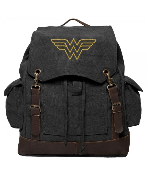 Wonder Vintage Rucksack Backpack Leather