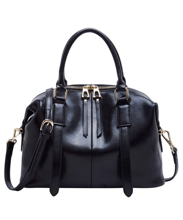 BOYATU Leather Crossbody Handbags Satchel