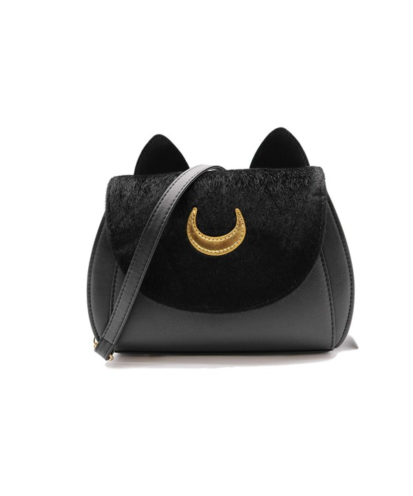 SSJ Shoulder Bagute Leather Handbag