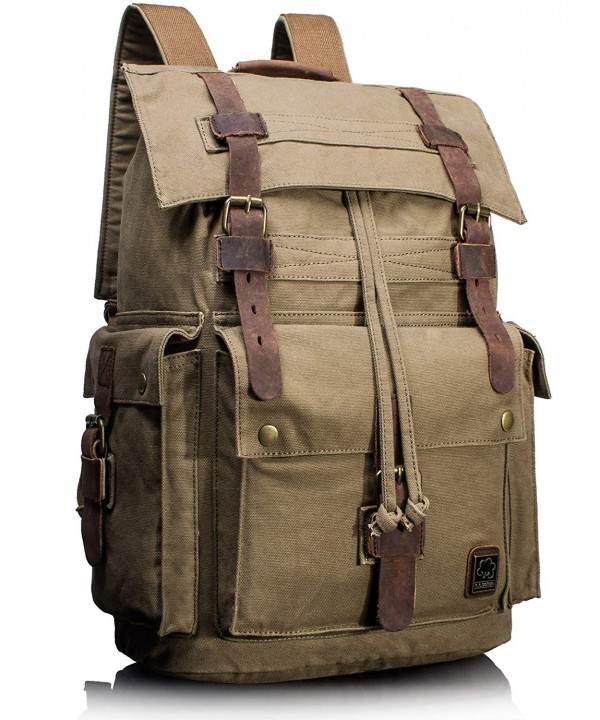Leaper Vintage Rucksack Military Backpack
