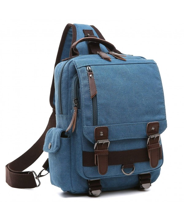 Medium Crossbody Backpack Shoulder Daypack