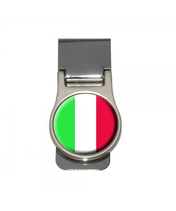 Italy Italian Flag Money Clip