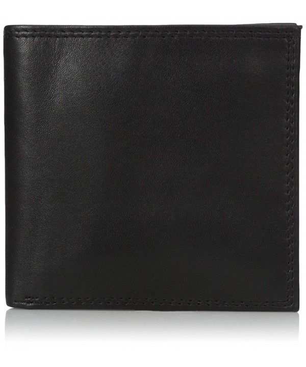 Buxton Mens Emblem leather Cardex Wallet