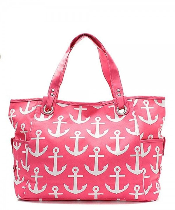 Nautical Anchor Print Canvas Large