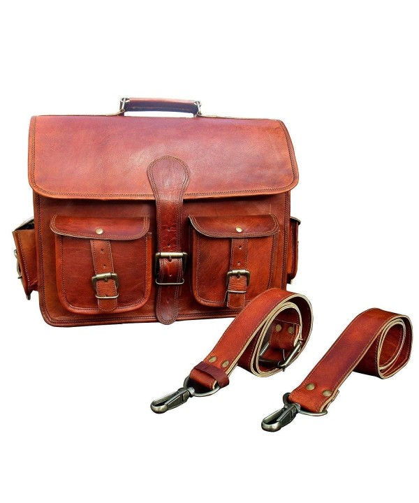 Aditya Leather Messenger Briefcase Satchel