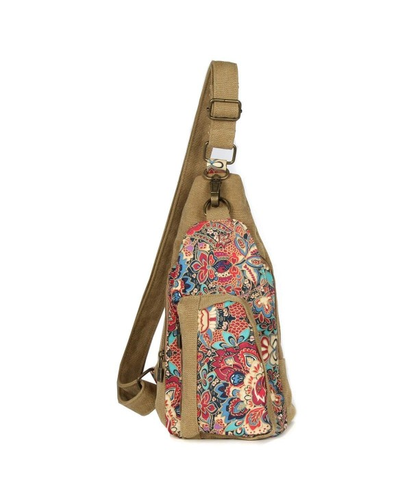 Butterfly Womens Canvas Inclined Shoulder