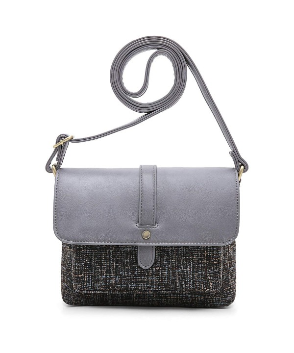 ECOSUSI Shoulder Crossbody Flap over Vintage