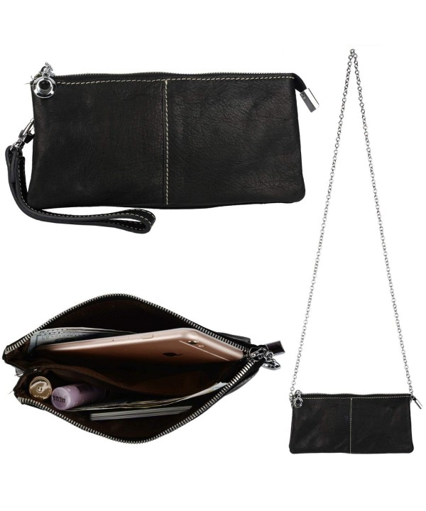 YALUXE Capacity Wristlet Checkbook Shoulder