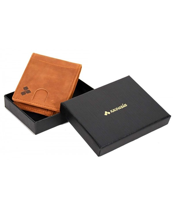 Slim Wallet Men Blocking Bifold