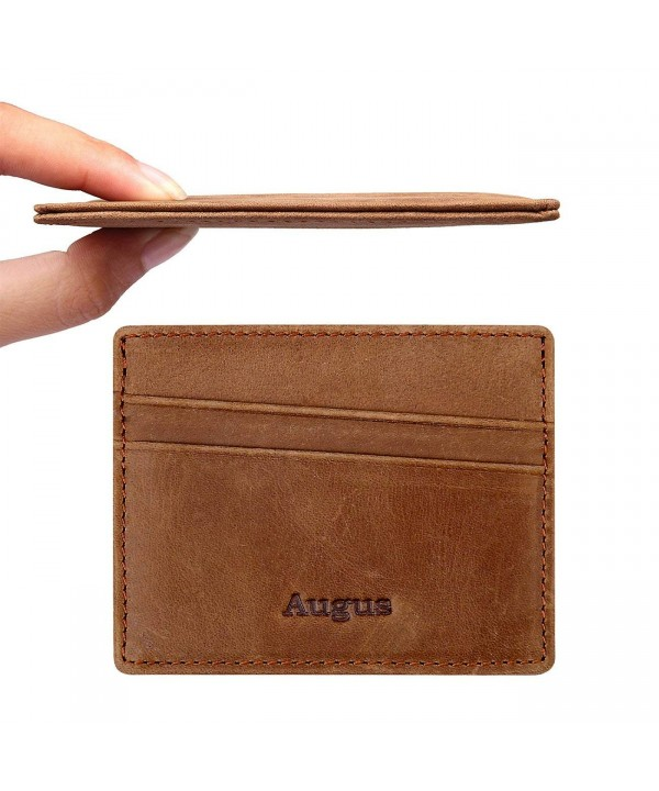 Augus leather Holder Pocket Blocking
