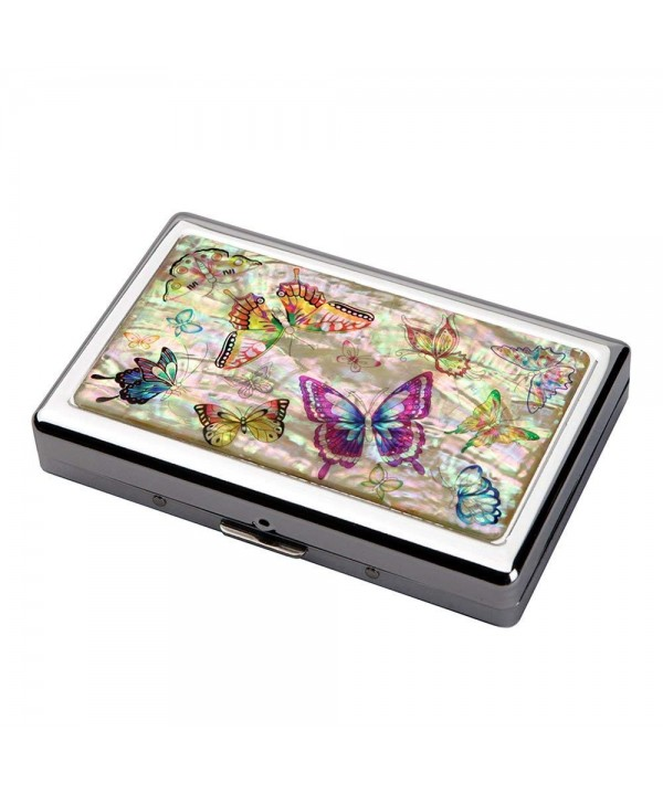 Colorful Butterfly Cigarette Protection Case