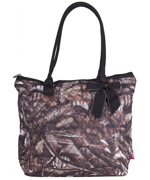 Natural Camo Large Quilted 16 inch