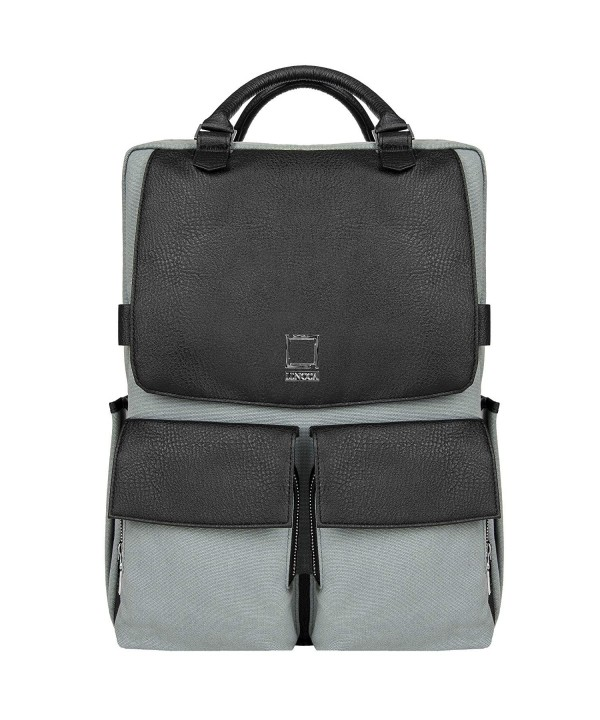 Lencca Leather Backpack Crossover LenNovoGRY