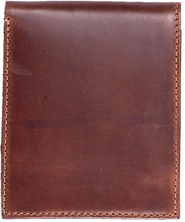 3D Tan Basic Bifold Wallet