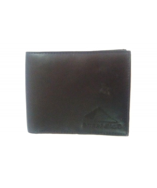STREET CRAFT Leather Flipout Bifold