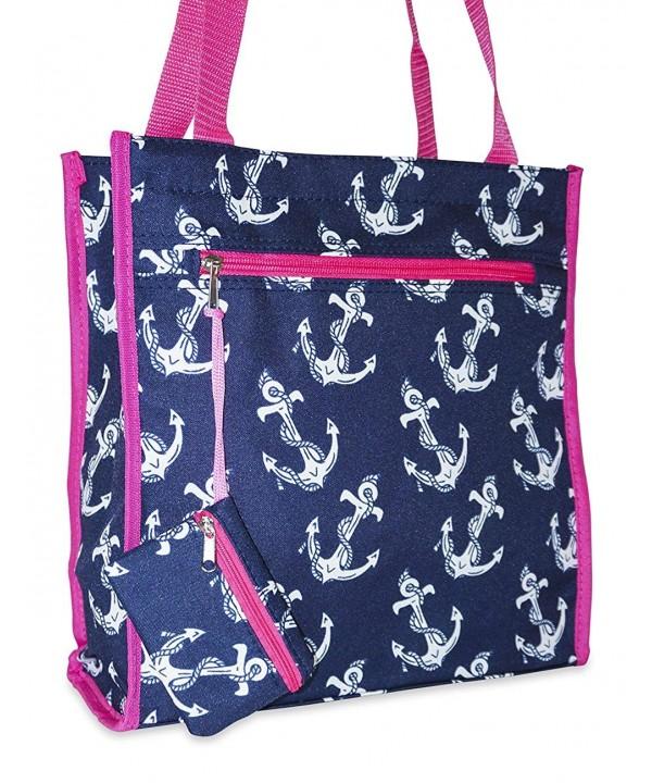 Ever Moda Anchor Tote Bag