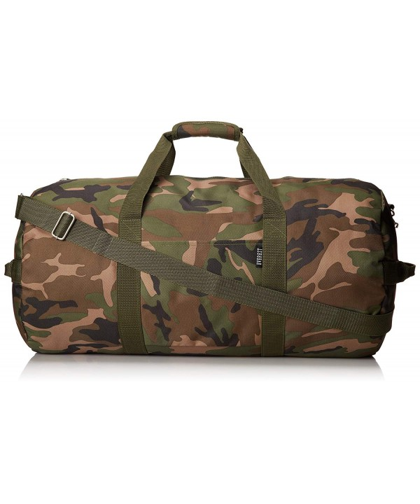 Everest 23 Inch Woodland Duffel Camouflage