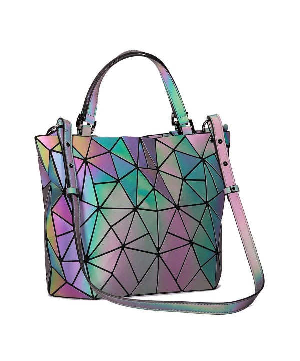 Geometric Holographic Top Handle Reflactive Halloween