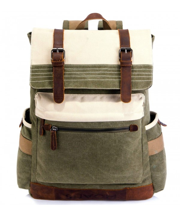 SUVOM Backpack Vintage Stylish Rucksack