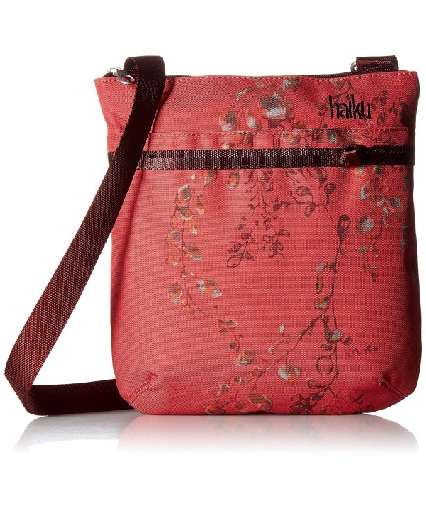 Haiku Blocking Crossbody Cinnabar Wisteria