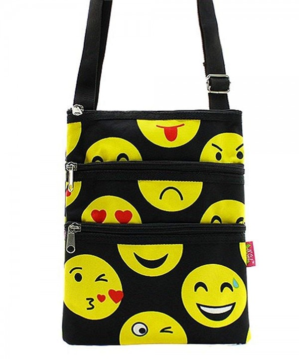 Emoji Messenger Smiley Shoulder Handbag