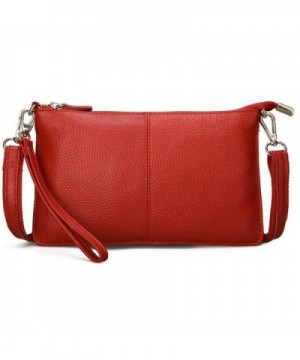 TOPSHINE leather Crossbody Fashion Wristlet