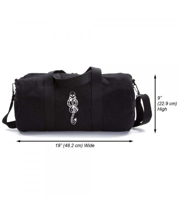 Harry Potter Eaters Canvas Duffel