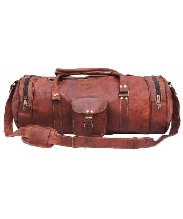 Handcrafted Genuine Vintage Leather Luggage