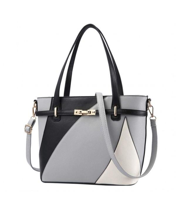 Kintaz Artificial Handbags Top Handle Crossbody