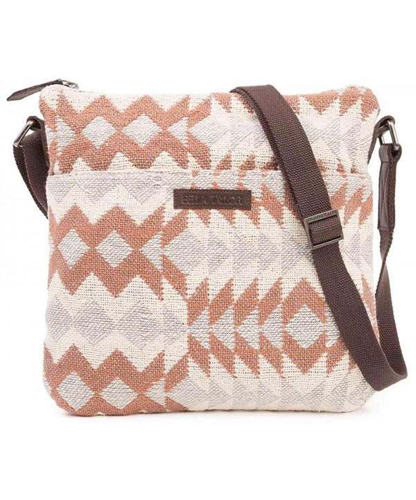 Bella Taylor Explorer Crossbody Amber