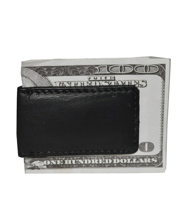 Mens Leather Strong Magnetic Money