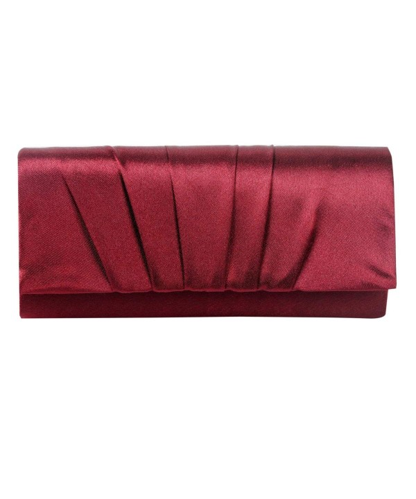 Damara Pleated Wedding Evening Handbag