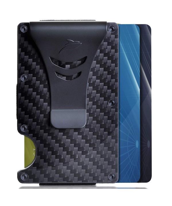Minimalist Carbon Blocking Wallet Holder