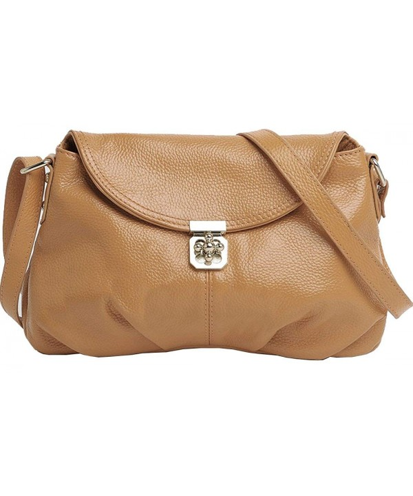 Leather Handbags Shoulder Designer Turn lock