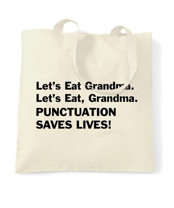 Grandma Punctuation Saves Lives Natural