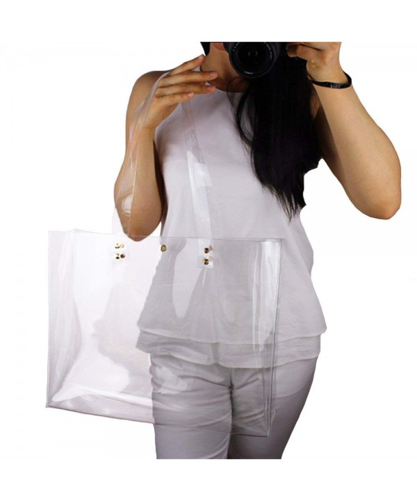 Stadium Approved Transparent Handbags Shoulder