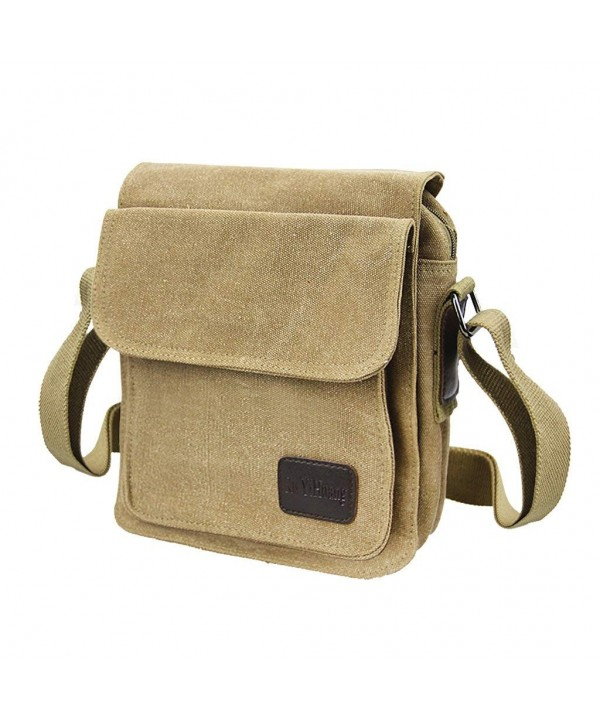 Vintage Messenger Satchel Shoulder Rucksack