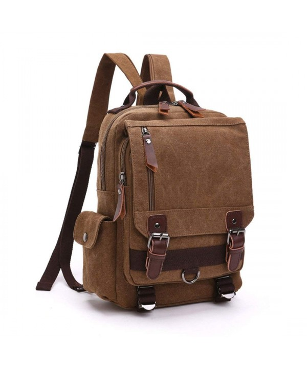 Leparvi Fashion Backpack Rucksack Messenger