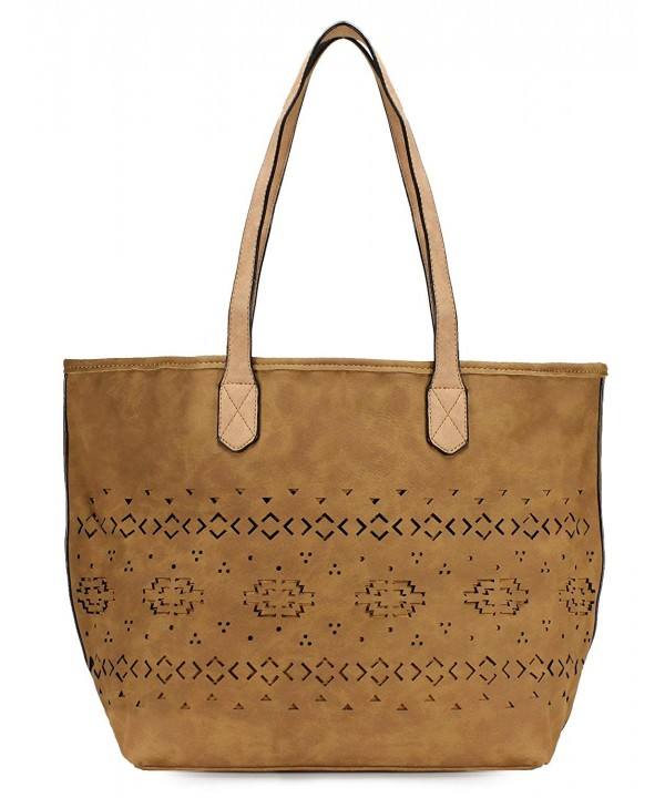 Scarleton Simple Pattern Tote H1943