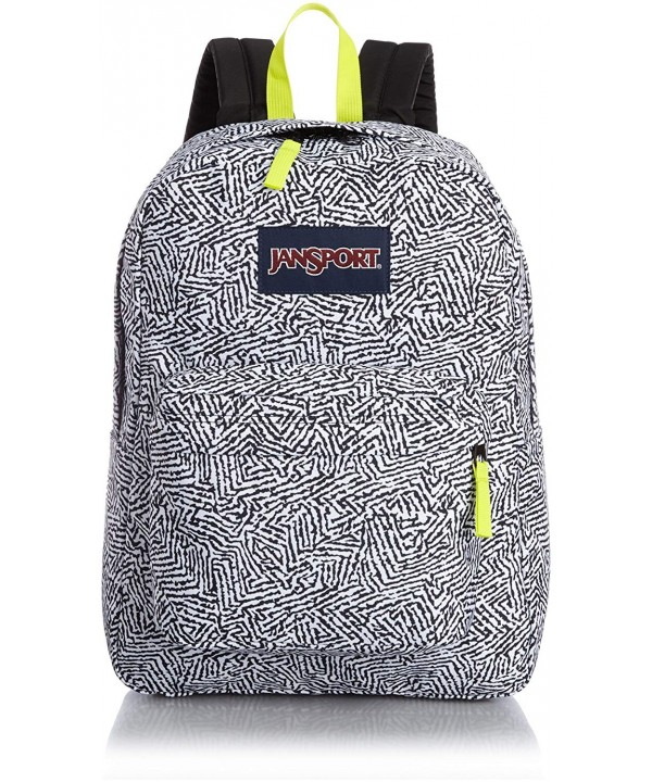 Jansport Superbreak Black Ziggy T50106Q