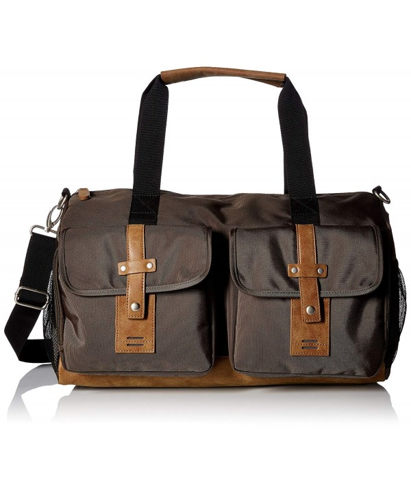 Buxton Expedition Trekker Duffel Olive