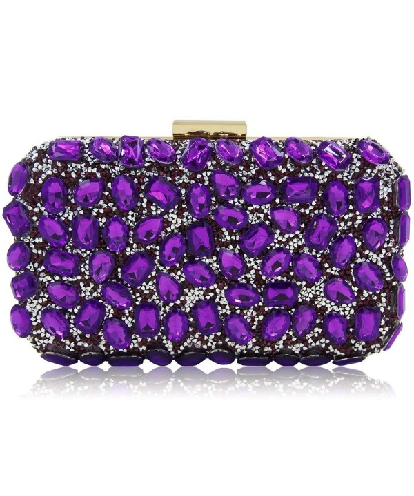 Stunning Rhinestone Clutches Cocktail Crossbody
