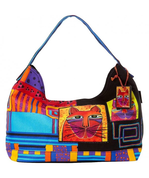 Laurel Burch Whiskered Cats Multi